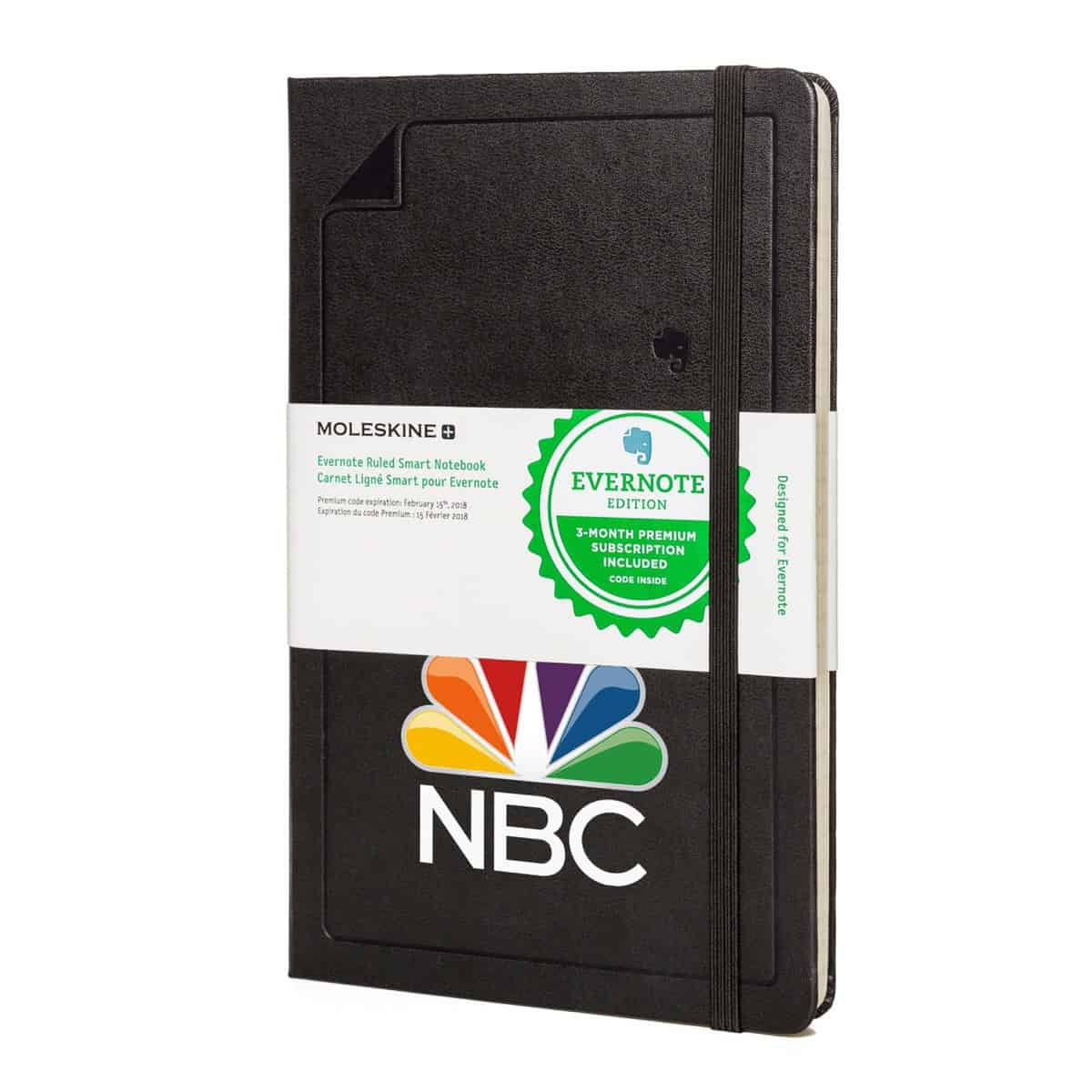 Moleskine® Evernote Notebook Black