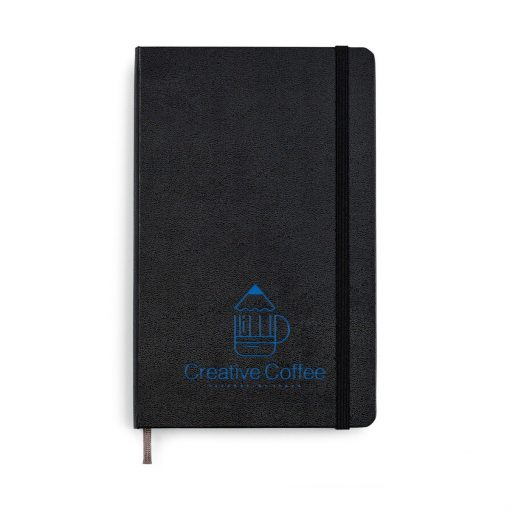 Moleskine® Hard Cover Dotted Large Notebook Black