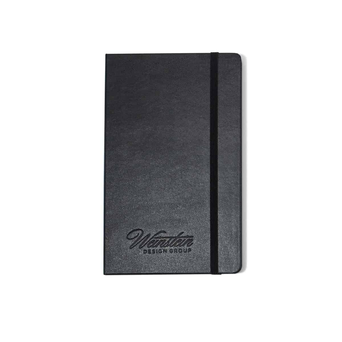 Moleskine® Hard Cover Plain Large Notebook Black