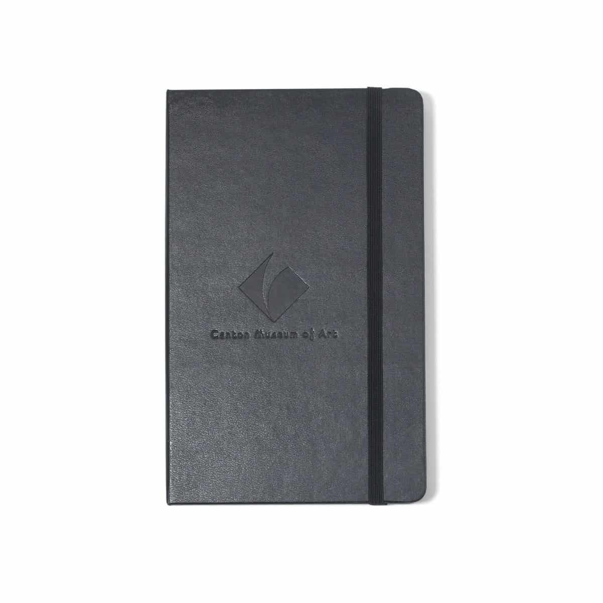 Moleskine® Hard Cover Ruled Large Notebook Black