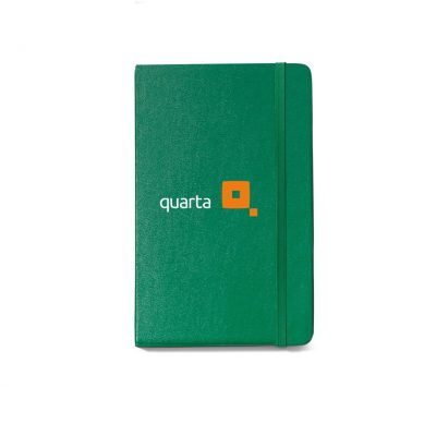 Moleskine® Hard Cover Ruled Large Notebook Green