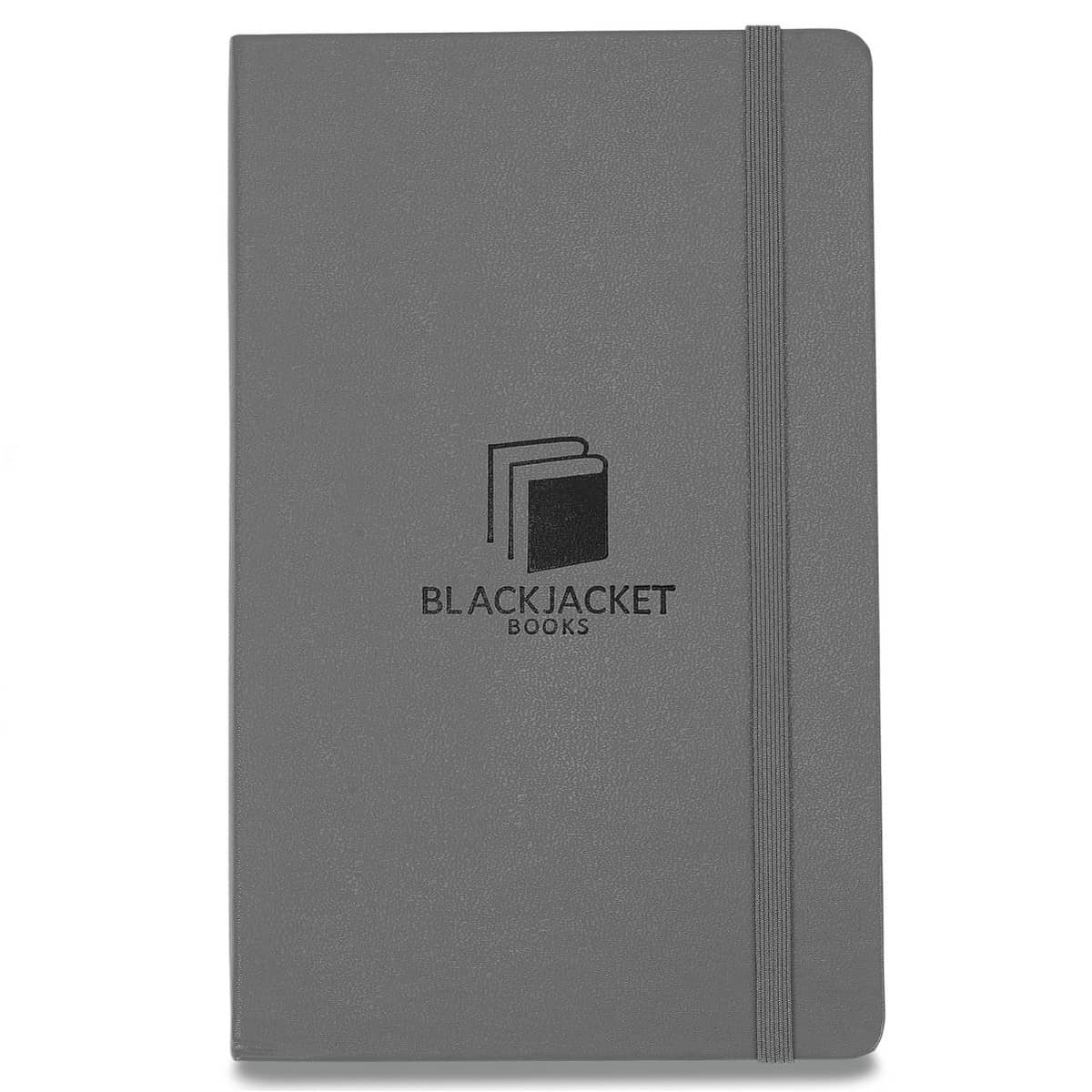 Moleskine® Hard Cover Ruled Large Notebook Grey