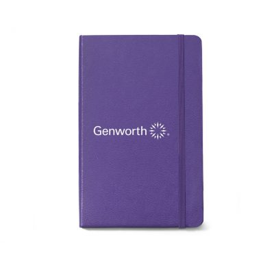 Moleskine® Hard Cover Ruled Large Notebook Purple