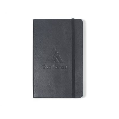 Moleskine® Hard Cover Squared Large Notebook Black