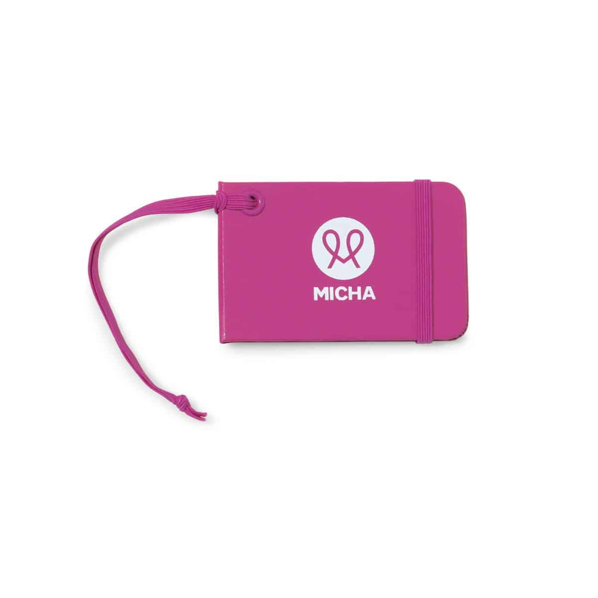 Moleskine® Luggage Tag Pink