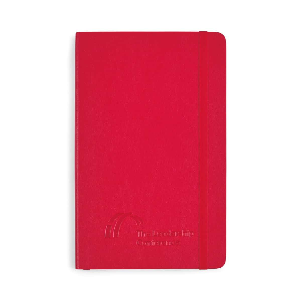 Moleskine® Soft Cover Ruled Large Notebook Red