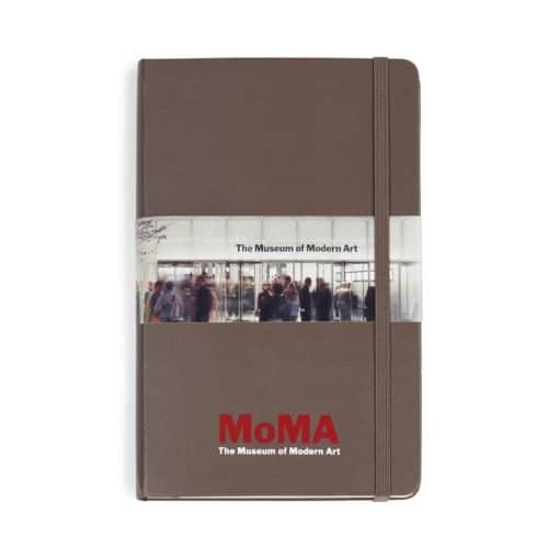 Moleskine® Hard Cover Ruled Large Notebook Brown
