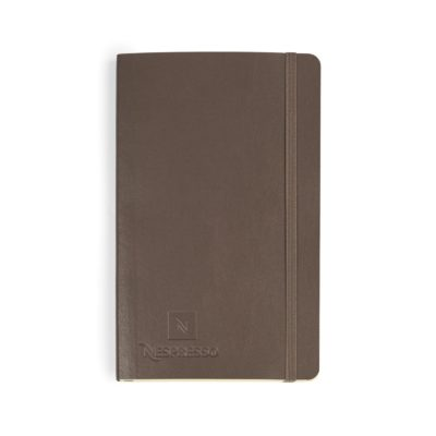 Moleskine® Soft Cover Ruled Large Notebook Brown
