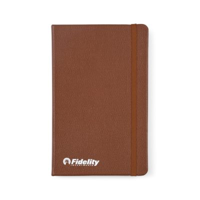 Moleskine® Leather Ruled Large Notebook Brown