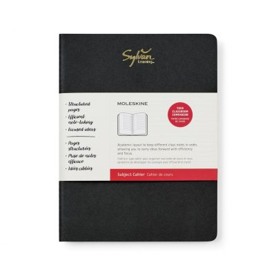 Moleskine® Cahier Subject X-Large Journal Black