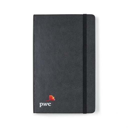Moleskine® Hard Cover Ruled Large Expanded Notebook Black