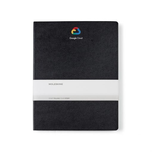 Moleskine® Hard Cover Ruled XX-Large Notebook Black